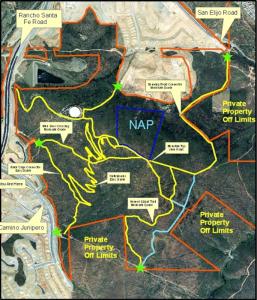 Junipero Kiosk Map